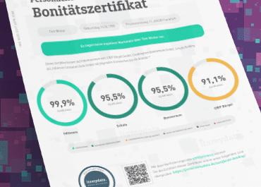 Bonität und das itsmydata Bonitätszertifikat
