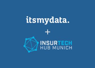 Insurtech Hub wählt itsmydata für sein Innovation Programm aus