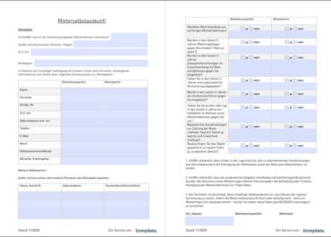 Mieterselbstauskunft – Ratgeber & kostenlose PDF-Vorlage